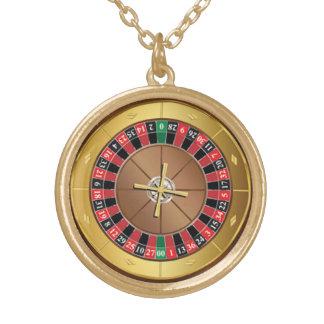 roulette wheel necklace
