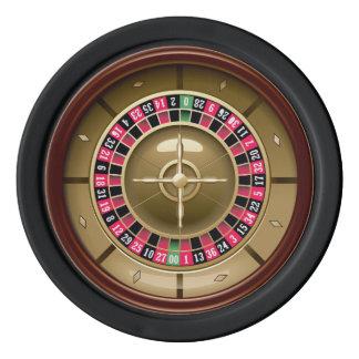 Roulette Wheel Poker Chips