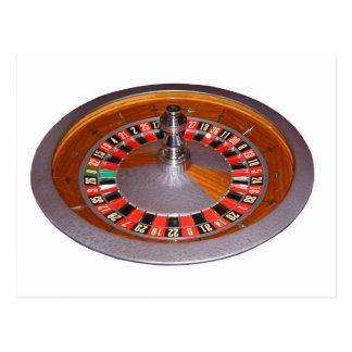 Roulette Wheel Postcard