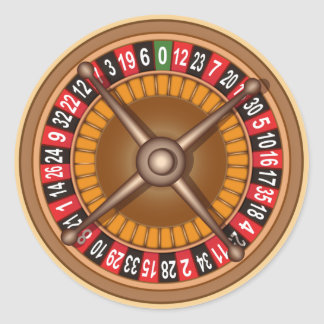 Roulette Wheel stickers