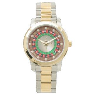 Roulette Wrist Watch