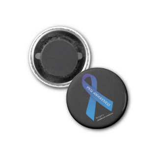 Round Adult PKU Awareness Magent Magnet