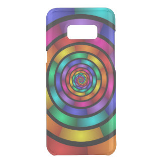 Round and Psychedelic Colorful Modern Fractal Art Uncommon Samsung Galaxy S8 Plus Case