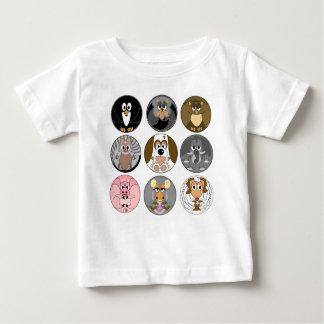 round animal baby T-Shirt