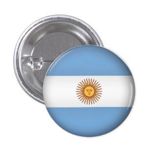 Round Argentina 3 Cm Round Badge