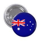 Round Australia Pin