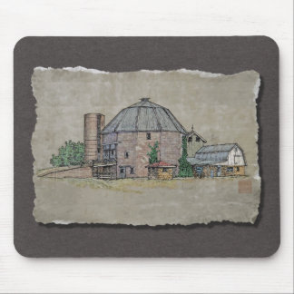 Round Barn Mousepad