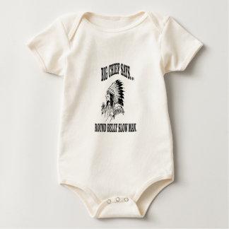 round belly slow man bc baby bodysuit