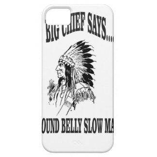 round belly slow man bc barely there iPhone 5 case