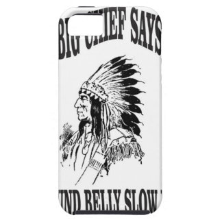 round belly slow man bc iPhone 5 cover