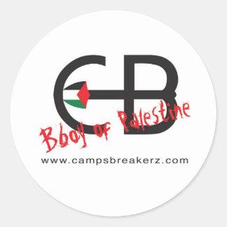 Round Camps Breakerz Sticker