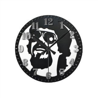 "Round clock of wall ""Raul Seixas """