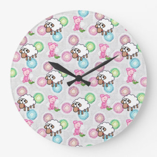 Round Clock Pig Sheep