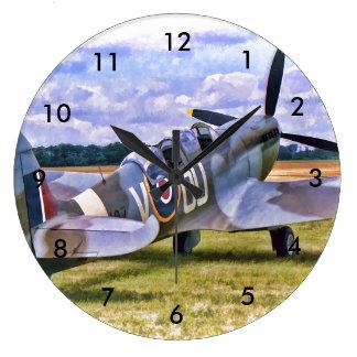 Round clock - Spitfire design