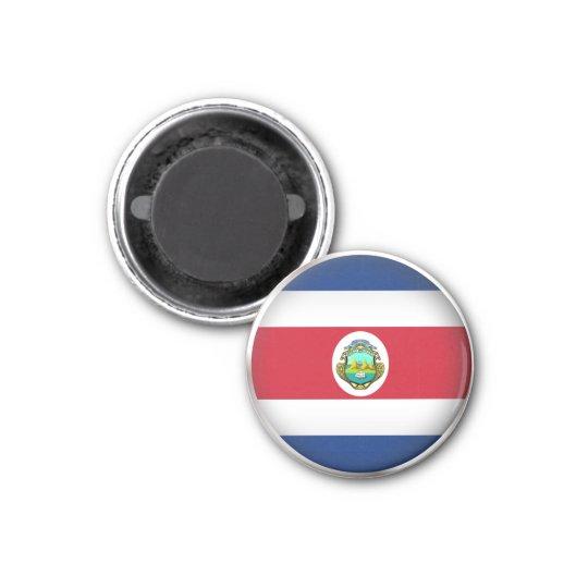 Round Costa Rica Magnet