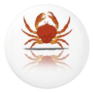 Round Crab Drawer Pull