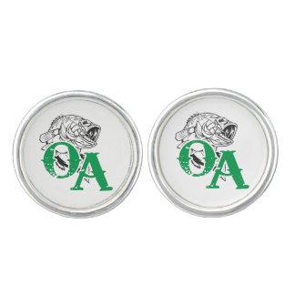 Round Cufflinks, Silver Plated Cuff Links