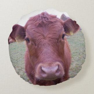 Round cushion/cushion cattle - photo Jean Louis Round Cushion