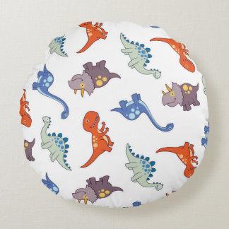 Round cushion Dinos