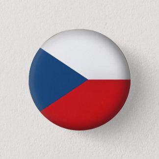 Round Czech Republic 3 Cm Round Badge