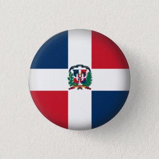 Round Dominican Republic 3 Cm Round Badge