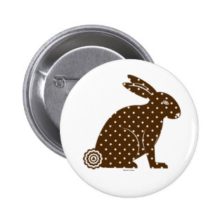 Round Easter Martzkin Button © 2012 M Martz