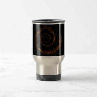 round flight travel mug