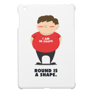Round Is A Shape Case For The iPad Mini