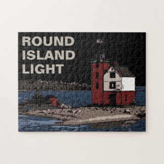 ROUND ISLAND LIGHT JIGSAW PUZZLE