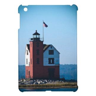 Round Island Lighthouse iPad Mini Cases