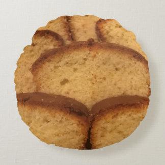 Round kissing cake round cushion
