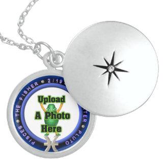 round logo template pendants