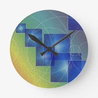 Round (Medium) Wall Clock art motive