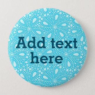 Round mosaic 10 cm round badge