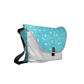 Round mosaic commuter bags