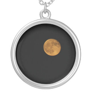 Round Necklace PHOTOGRAPH OF HARVEST MOON