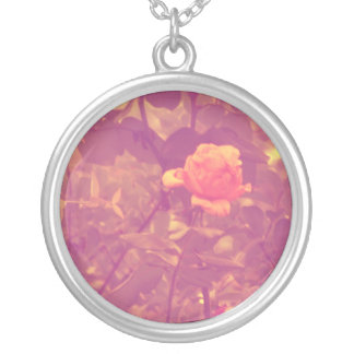 Round necklaces Rose Amber