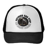 Round Nothing Can STOP the Honey Badger Design Cap