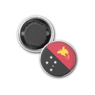 Round Papua New Guinea 3 Cm Round Magnet