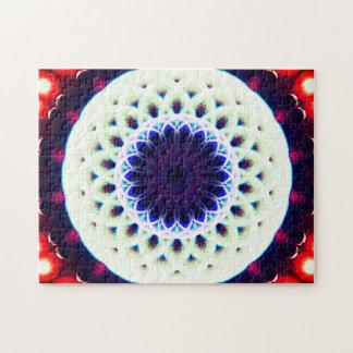 Round Portal | Meditation Mandala Jigsaw Puzzle