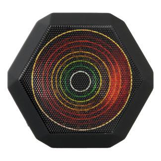 Round Retro Neon Pattern Design Speaker