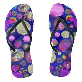 'Round & 'Round Flip-Flops Thongs