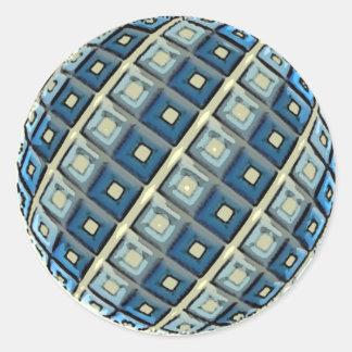 Round Scramball Sticker