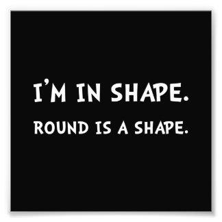 Round Shape Photograph