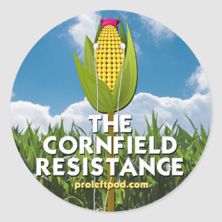 Round Stickers (6/page) - The Cornfield Resistance