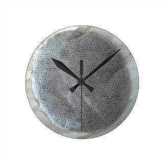 Round Tea Bag Clock