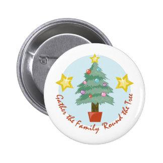 Round The Tree 6 Cm Round Badge