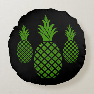 Round Throw Pillow Ideas : Pineapple Bed Gifts - T-Shirts, Art, Posters & Other Gift Ideas Zazzle