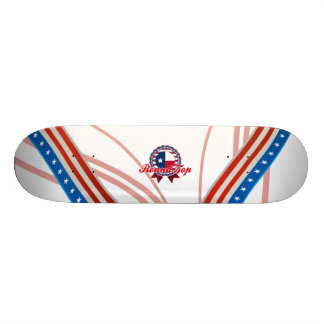 Round Top, TX Custom Skateboard