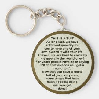 Round Tuit keychain